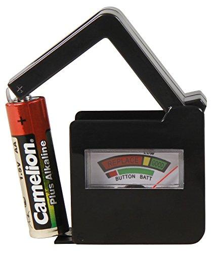 MC POWER - Batterietester | EL-BT 6 | für AAA, AA, C, D, 9V Batterien