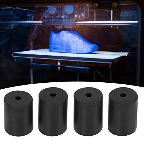 Nivelliersäule Hochleistungs-Nivelliersäulen für langlebigen Puffer Silikonschwarz 4-teilig für 3D-Drucker Ender 3pro für 3D-Drucker Ender 2
