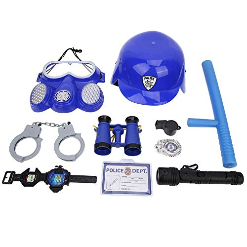 VGEBY1 Kinder Cosplay Anzug, DREI Farben Option Kostüm Soldat Feuerwehrmann Kleidung Zubehör Anzug Set Für Kinder Cosplay Spiel(Blau)