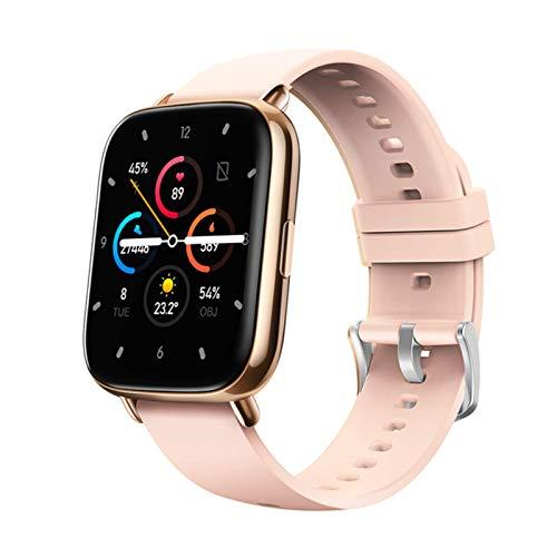 QKA Smartwatch para Hombres Y Mujeres, Pantalla De 1.69', Ritmo Cardíaco Impermeable Y Monitor De Sueño, Adecuado para iOS Android, Deportes Smartwatch,A