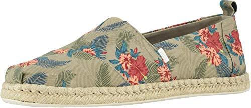 TOMS zapatos clásicos de lona para mujer, Marrón (Oxford