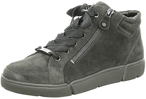 ARA Damen Rom 1214435 High-Top Sneaker, Grau Elefant 08, 40 EU, 6.5 UK