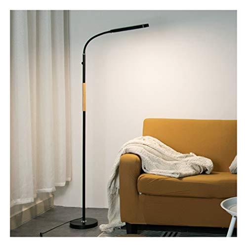 ZGP-LED Luces de piso Lámpara de mesa Lámpara de pie Lámpara de bebé Negro sofá de la sala dormitorio cabecera de control remoto táctil de atenuación de los niños la lectura del LED Nivel de energía [