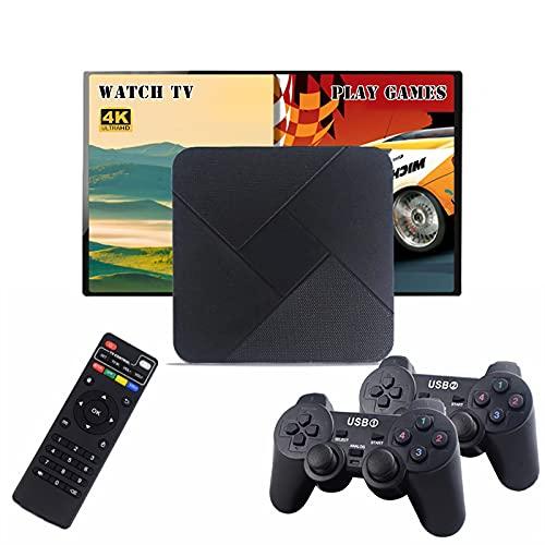 Consola Super Console X Pro Consola de jugadores, juego de juegos portátiles / TV Sticks con más de 20 emuladores, juegos incorporados de 6000+, consolas de juegos de arcade clásicos para TV 4K, sopor
