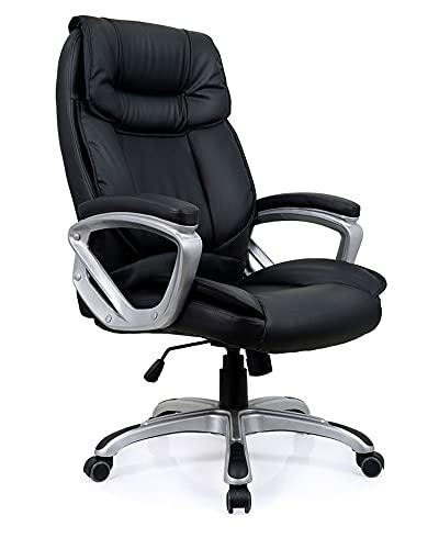 Cadeira Escritório Presidente Viena Preta Conforsit 3798