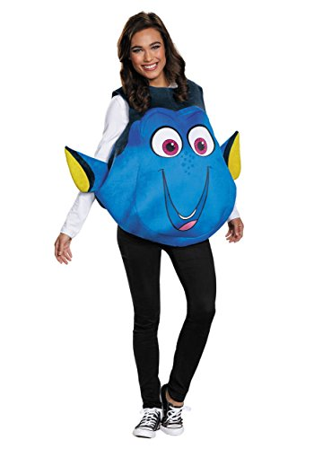 Disguise Dory Adult Fish Costume Standard Blue