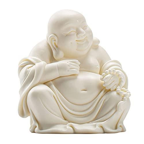 LAHappy Statuette de Bouddha Rieur, Bouddha Heureux, Figurin