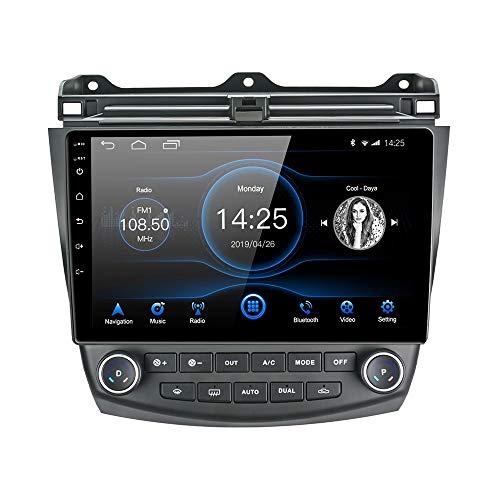 LEXXSON Android 8.1 Autoradio für Honda Accord 7. 2003-2007   10,1-Zoll-Touchscreen AM FM-Radio GPS-Navigation EQ-Einstellungen WLAN Bluetooth USB-Player Lenkradsteuerung Spiegel Link