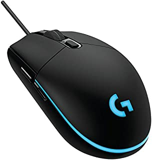 Logitech G102 IC PRODIGY Gaming Mouse Optical 6,000DPI, 16.8M Color LED Customizing, 6 Buttons -International Version- Bul...