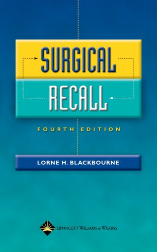 Surgical Recall, 4e - Print & Audio Package