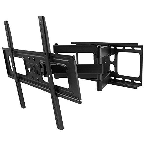"""One For All WM4661 - Soporte de pared para TV de 32 a 84"""", giratorio 120°, peso Max. 60kg, negro"""