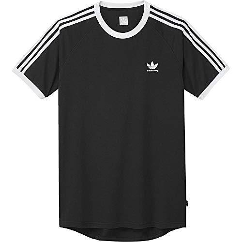 adidas Herren California 2.0 T-Shirt, Black/White, L