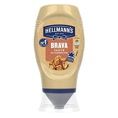 Hellmann's Salsa Brava Bocabajo - Pack de 8 x 250