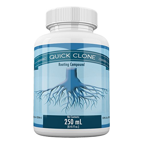 Quick Clone Gel - Most Advanced Cloning Gel for Faster, Healthier, Stronger Rooting Clones. (250mL)
