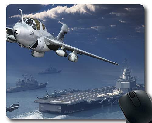Yanteng Mouse Pads,Warplane Warship Fighter Aircraft Gaming Mouse Pads Multi YT101
