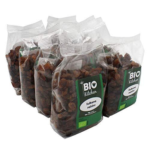 BioKitchen - Pasas sultanas ecológicas (8 paquetes de 250 g