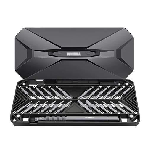 ZZABC LUSDTJGJ Destornillador Establecer Precisión 50 en 1 Destornillador bits Magnético Herramientas de Tornillo de Doble Cara para Reparar PC Teléfono Móvil