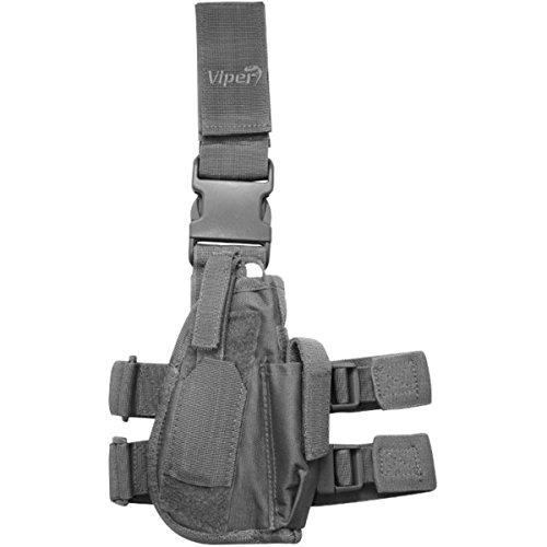 Viper TACTICAL - Funda de Pistola Vertical para Pierna - par
