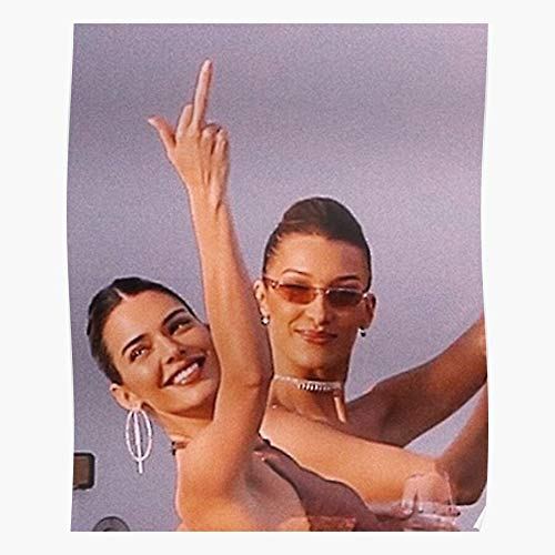kineticards New Cool Kylie Chloe Kim Funny Jenner Kardashian   Home Decor Wall Art Print Poster