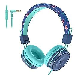 2. Baseman Kids Dinosaur Headphones with Microphone