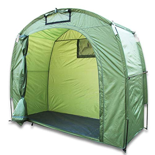 Bicycle Tent 210D Oxford Fabric Bicycle Shed Outdoor Storage Bicycle Cover Tent Window Design Garden Camping Accessories