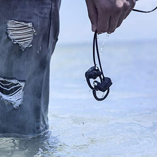 Zeta Ebd4 Audífonos Sumergibles Inalámbricos Waterproof IPX7, Color Negro