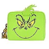 Loungefly x Dr. Seuss Die Grinch Cosplay Zip-Around Geldbörse