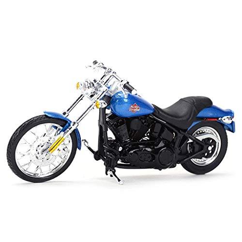 Auto-Modell kompatibel mit Harley Davidson-Legierung Modell Druckguss Modell Motorrad Modell 1/18 Dekoration...