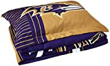 Officially Licensed NFL Baltimore Ravens 'Safety' Twin Comforter and Sham Set, 64' x 86'