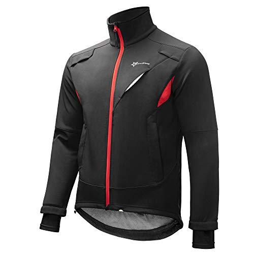 ROCKBROS Winter Jacke / Hose Fahrradbekleidung Herren Fahrrad Radjacke Lange Wasserfest Windjacke Radhose Freizeithose S-4XL