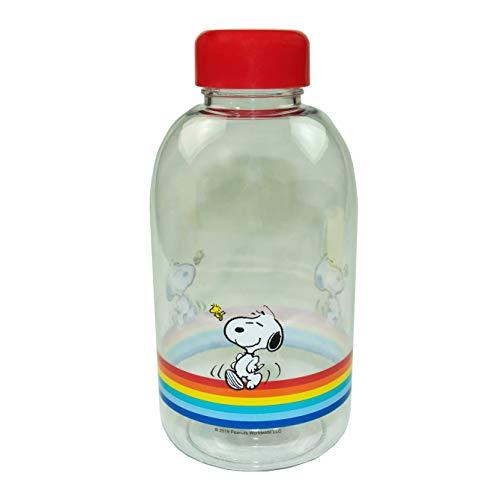 Peanuts Snoopy - Botella de agua | 600 ml | Colección clásica sin BPA
