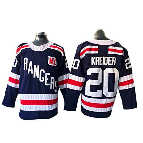 NHICR Rȧngėrṡ Hombres Hockey sobre Hielo Jerseys Krėidėr Sportswear Sudaderas de...