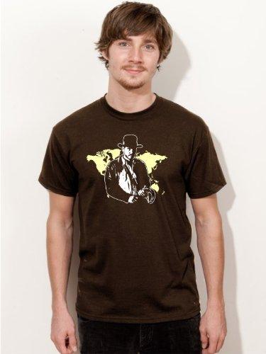 BIGTIME.de T-Shirt Indiana Jones Harrison Ford Film Kult Shirt E46 - Gr. XXL