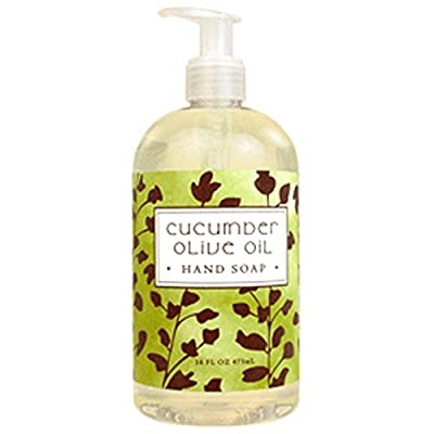 Greenwich Bay Trading Co. Hand Soap, 16 Ounce, Cucumber Olive Oil