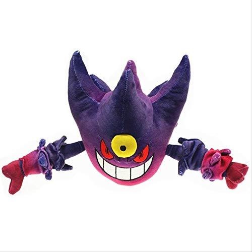 Pokemon Mega Evolution Gengar Plüschtier 20 cm Spukpuppe Pikachu Anime Gefüllt Für Kinder Pkm Spielzeug