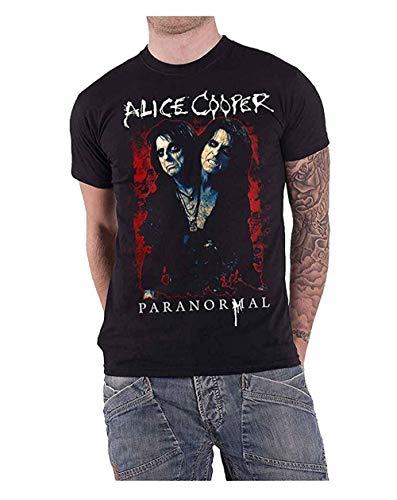 Alice Cooper T Shirt Paranormal Splatter Logo Nue offiziell Herren