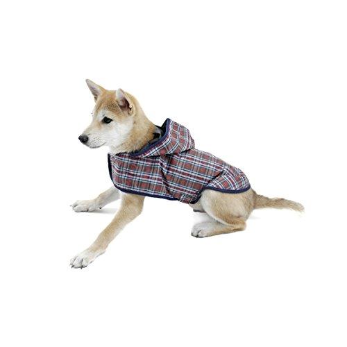PAWZ Road ドッグウェア 犬服 レインコート 犬 猫 小型犬 中型犬 防水 梅雨対策 通気性よい 洗える 着脱簡...