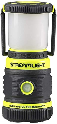 Streamlight Siege AA Gelb - Magnetische Outdoor-Lampe - Robust & Wetterfest