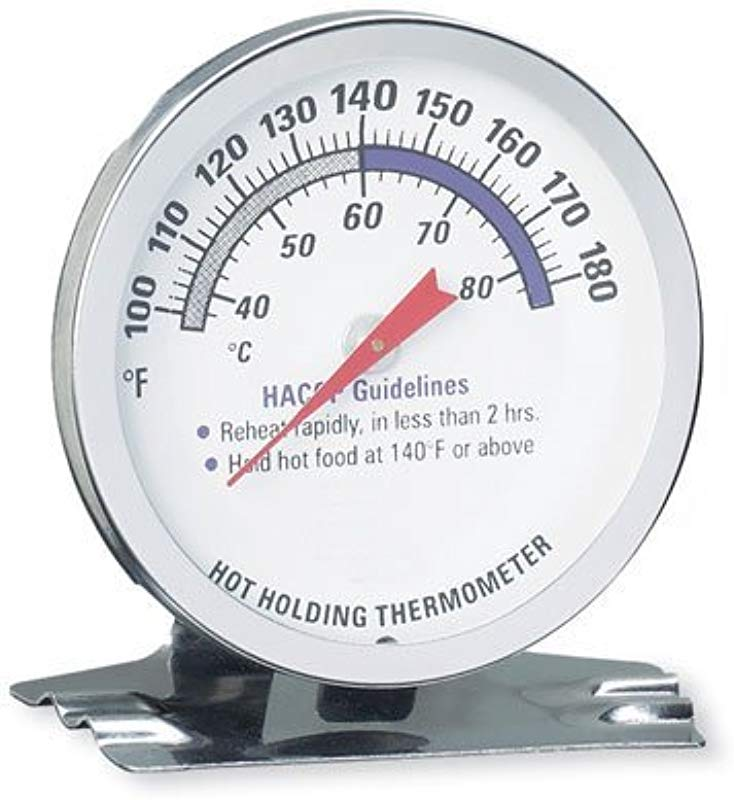 Taylor 5980N Hot Holding Thermometer NSF Listed Temperature Range Is 100 To 180 F
