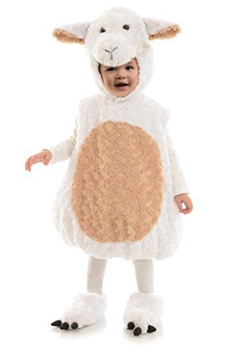Underwraps Costumes Costume Peluche bébé Agneau Taille 18/24 Mois