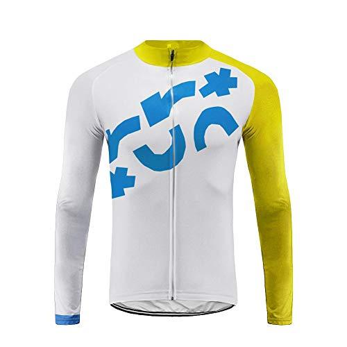 Uglyfrog Designs 2019 Winter Warm Vlies Radsport-Shirt Long Sleeve Herren,Radtrikot mit Lange Ärmel,Fahrradhemd Jacket,Hemd für Das Fahrrad,Fahrrad Trikot für Männer