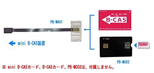『P-busters PB-MA01 mini B-CAS 変換アダプター B-CAS to mini B-CAS Aタイプ』の4枚目の画像