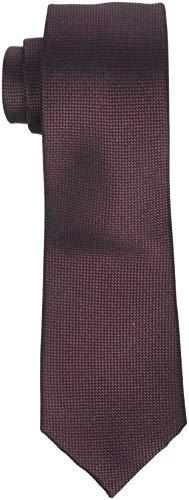 SELECTED HOMME Herren SLHNEW TEXTURE TIE 7CM NOOS B Krawatte, Braun (Rum Raisin Rum Raisin), One Size