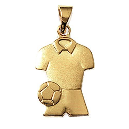 Les Trésors De Lily [K9330] - Ciondolo in oro 'Passion Football' placcato.