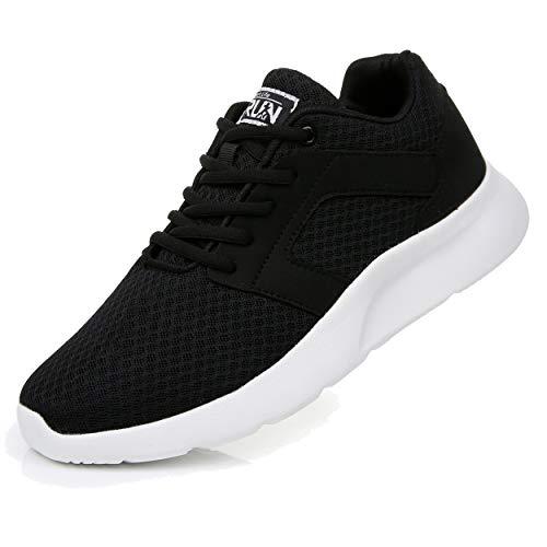 Uricoo Herren Damen Sneaker Outdoors Straßenlaufschuhe Sports KletterschuheTurnschuhe Running Fitness Atmungsaktiv Leichte Laufschuhe Sportschuhe 8996BWT44