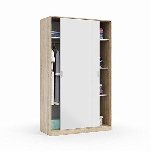 Habitdesign armario corredera recibidor de 120 cm x 200 cm x 50 cm