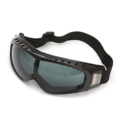 jiamins gafas de esquí y moto de seguridad, protección de ojos gafas de protección antiviento y anti polvo antivaho), gris, Buildamznuk1146