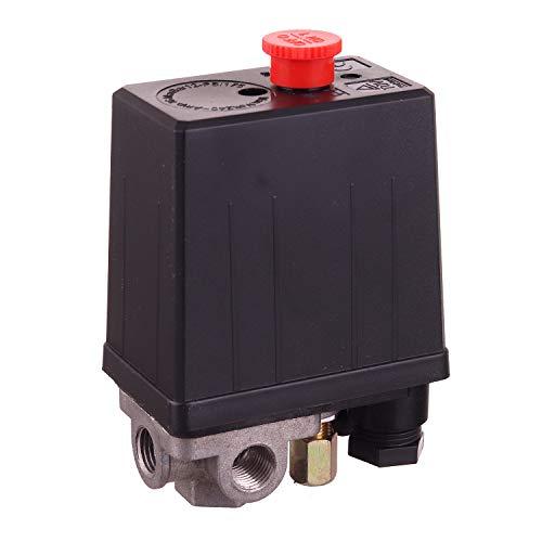 Neu 220V Druckschalter Druckluftschalter Schalter für Kompressor Kompressoren