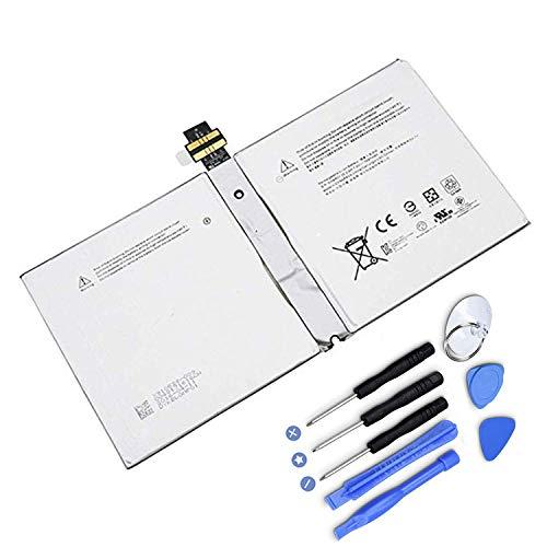 HUBEI DYNR01 G3HTA027H Reemplazo de la batería de la Tableta para Microsoft Surface Pro Pro 4 1724 Series(7.5V 38.2Wh/5087mAh)