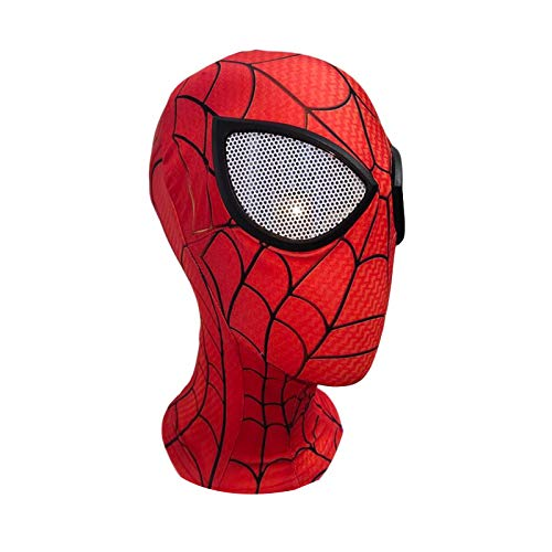 Spider-Man Full Face Mask Dress Up Fancy Dress Cosplay Props Extraordinary Head Mask Halloween Película Cosplay Disfraz Accesorios, Niño,Character a